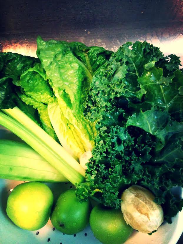 juicing greens