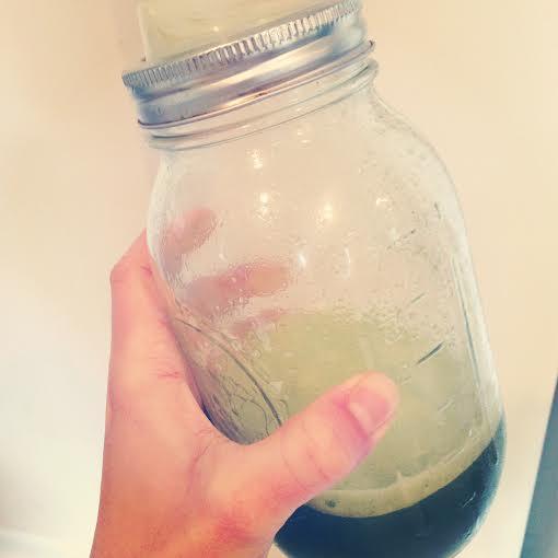 dandelion juice